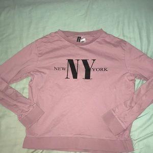 H & M new york sweatshirt